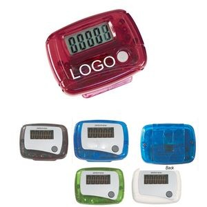 Plastic Pedometer for Advertising