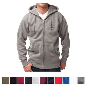 Independent Trading Company Men's Independent Heavyweight Zip Hooded Sweatshirt