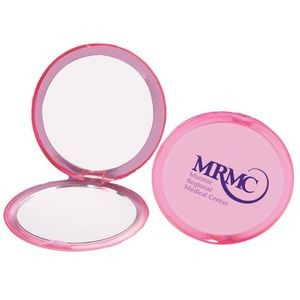 Pink Compact Mirror - Personalization Available
