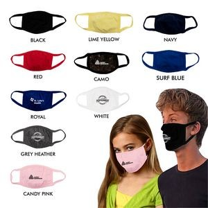 Juniors 3-PLY Cotton Face Mask