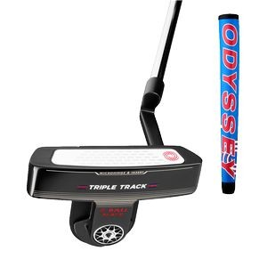 Odyssey Triple Track 2-Ball Blade Putter with Pistol Grip