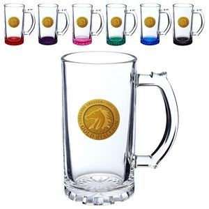 16 Oz. Sports Glass Beer Steins Mug
