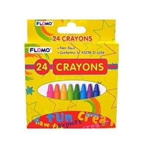 Crayons - 24 Count (Case of 48)