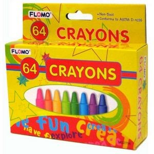 64 pack of Crayons (Case of 48)