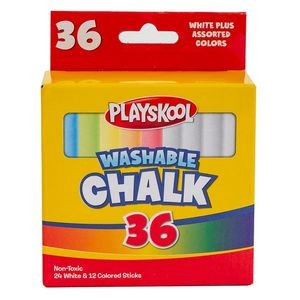Playskool Washable Chalk- 36 Count (Case of 24)