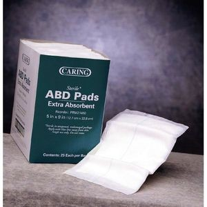 Caring ABD/Combine Pads (Case of 1)