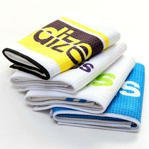 Recycled RPET Waffle Golf Rally Towels